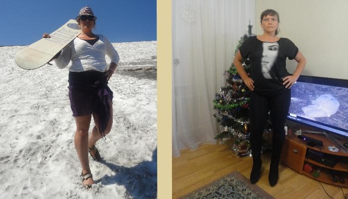 Диета Дюкана - до и после на фото