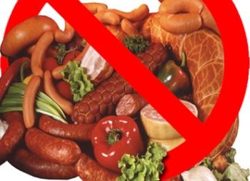 Запрещенные продукты в диете при язве желудка