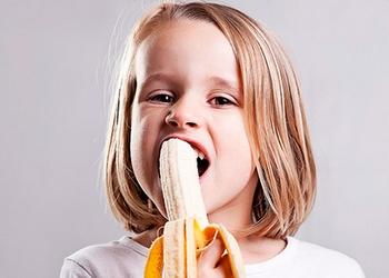 Бананы — любимое лакомство детей