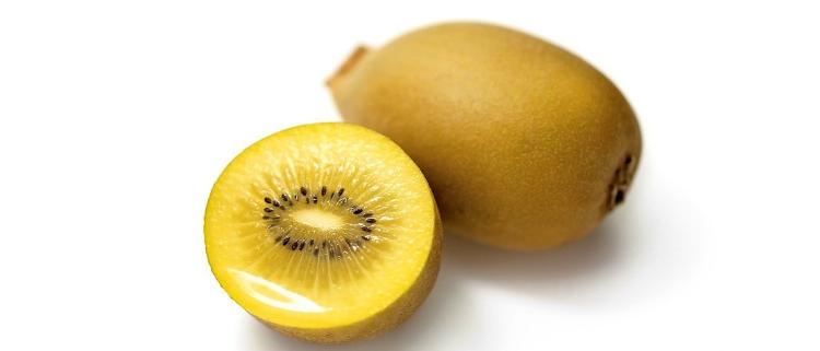 Gold kiwi — желтый сорт фруктов киви