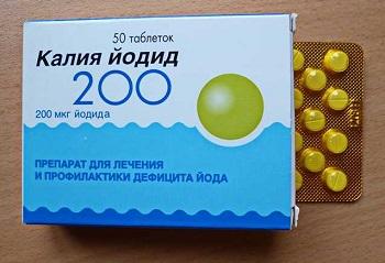 Недостаток йода в организме - какие существуют препараты, содержащие йод