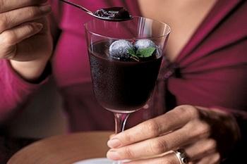 Нестондартное употребление красного вина