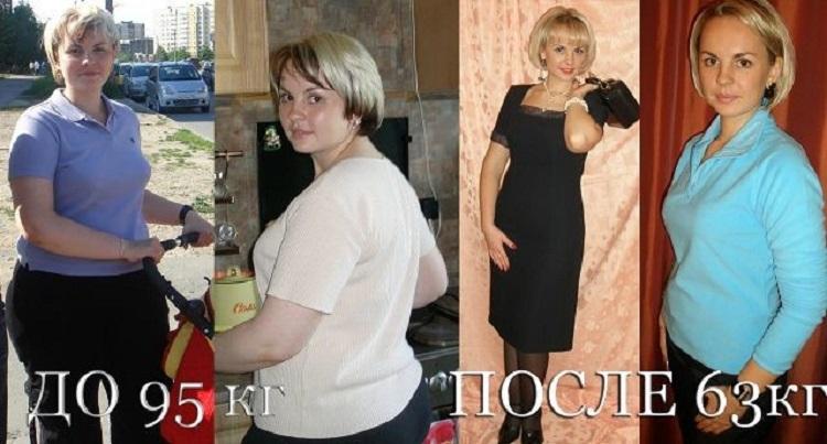 Результаты и отзывы похудевших с помощью программы питания Энерджи Диет
