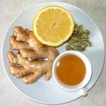 Чай с имбирем - полезные свойства напитка и рецепт заваривания