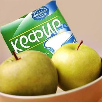 Диета кефирно-яблочная: меню на 9 дней