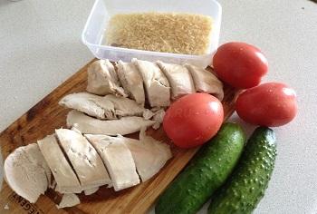 Примерное меню на каждый день при соблюдении диеты на огурцах и помидорах