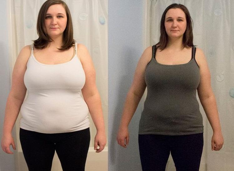 Результаты похудевших при помощи диеты на огурцах и помидорах