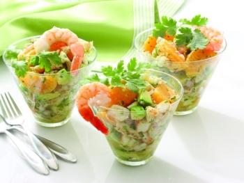 Рецепты приготовления низкокалорийных салатов для похудения