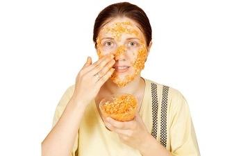 Применение кукурузной каши в косметологии