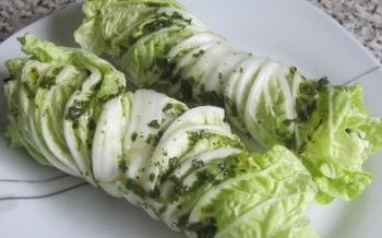 Рецепты приготовления китайской капусты