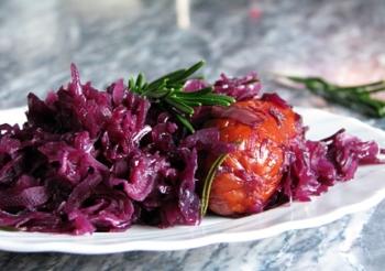 Кулинарные рецепты блюд из краснокочанной капусты