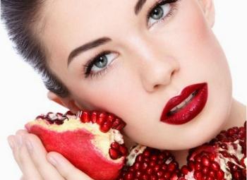 Применение граната в косметологии — польза и вред для организма женщины