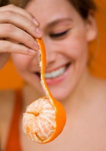 Применение мандаринов в косметологии