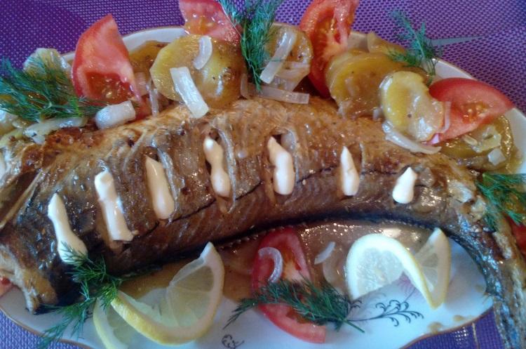 Рыба Пикша приготовленная в духовке, польза и вред продукта