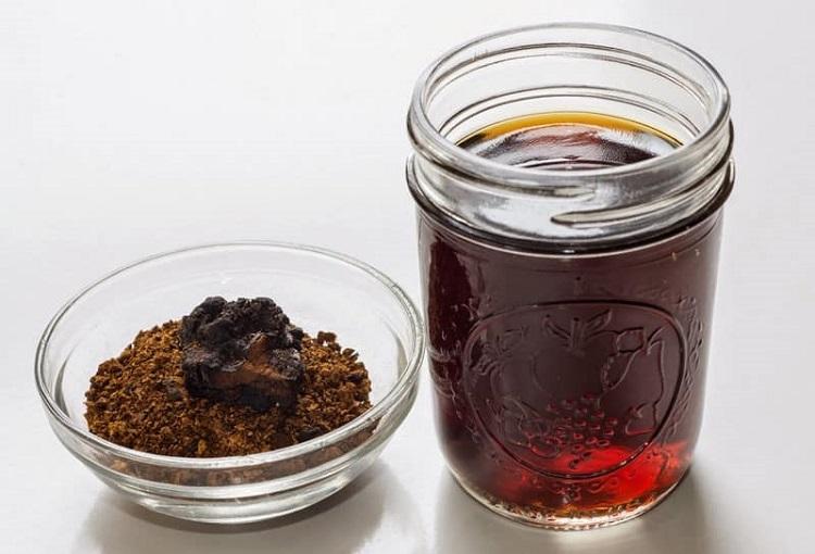 Целебная сила чаги - несколько рецептов приготовления отвара из грибов