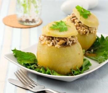 Рецепт приготовления фаршированного овоща