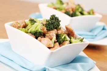 Рецепт тушеной курицы с капустой брокколи