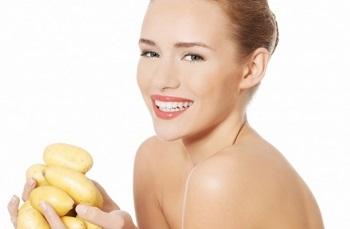 Как используют картофельный сок в косметологии - рецепты домашних масок