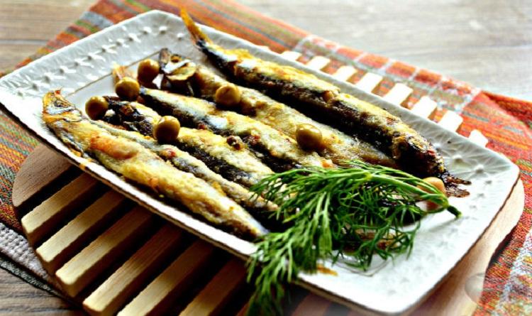 Мойва, запеченная в фольге - пошаговый рецепт приготовления