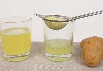 Применение картофельного сока в народной медицине