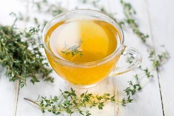 Чашка чая на травах