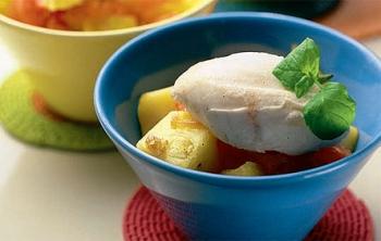 Маракуйя: полезные свойства, рецепт фруктово-сливочного десерта