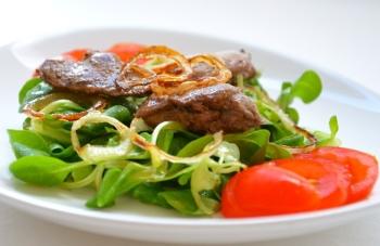 Применение печени индейки в кулинарии