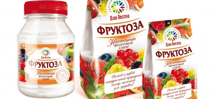 Фруктоза вместо сахара - польза и вред для организма человека