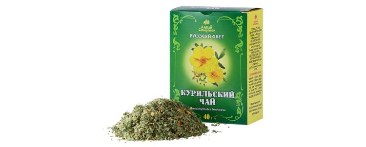 Курильский чай: полезные и лечебные свойства, противопоказания и области применения