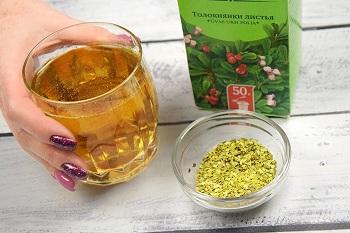 Травяной напиток из засушенных листьев