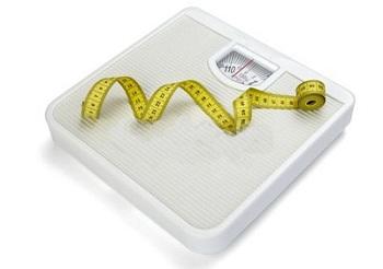 Весы и рулетка для похудения