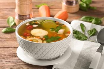 Диета на жиросжигающем супе - примерное меню на 7 дней