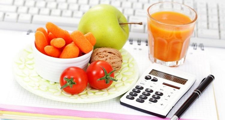Калькулятор калорий для похудения  онлайн расчет суточной