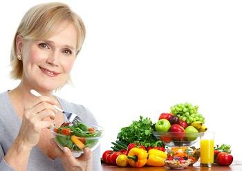 Какой должна быть диета для женщин после 55 лет