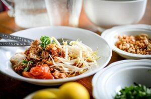 Вкусное полезное блюдо с овощами