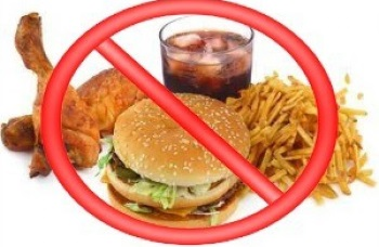 Диета при удалении желчного пузыря с камнями - запрещенные продукты питания