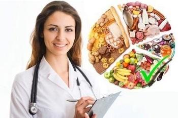 Девушка диетолог