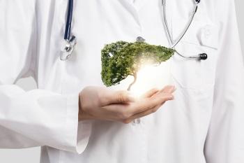Доктор в белом халате