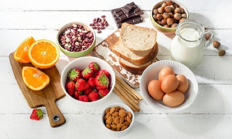 Вкусные продукты питания