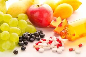 Фрукты и ягоды, таблетки