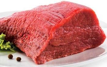 Кусок сырого мяса