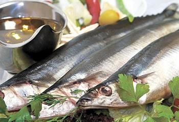 Аппетитная рыба с соусом