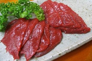 Свежее мясо изелень