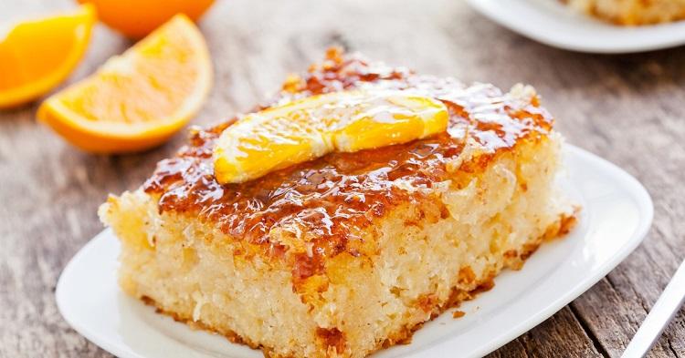Как приготовить пирог с соком апельсина, рецепт