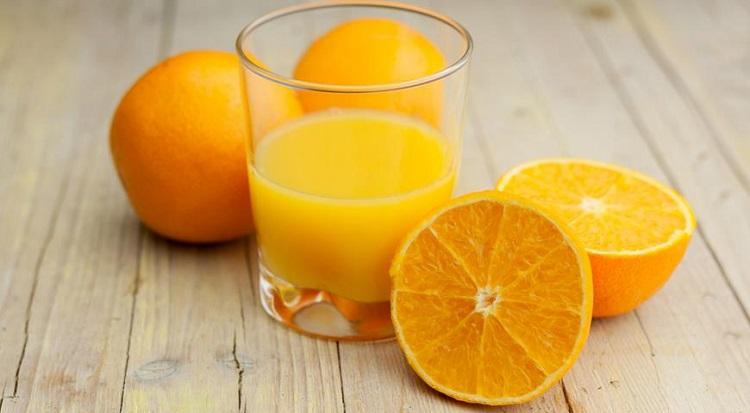 Калорийность апельсинового сока на 100 мл