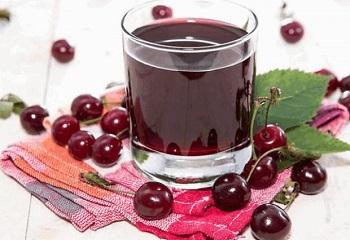 Вишневый сок на зиму, рецепты