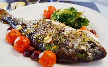 Ароматное рыбное блюдо