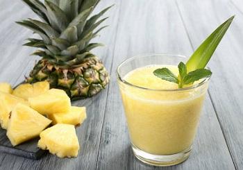 Ананасовый сок для детей - польза и вред