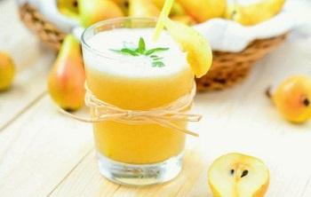 Полезные свойства грушевого сока, рецепты приготовления