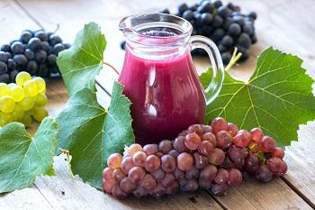 Состав виноградного сока и ценные свойства